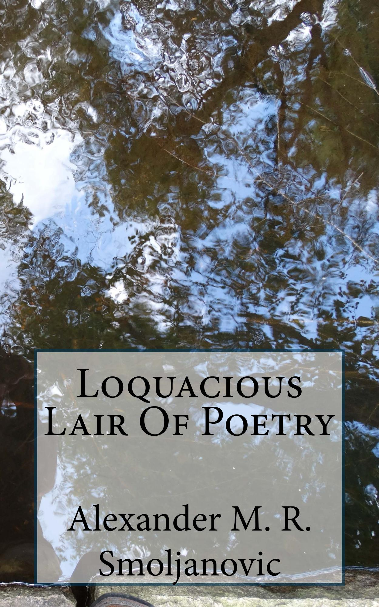 Loquacious Lair Of Poetry book on Amazon